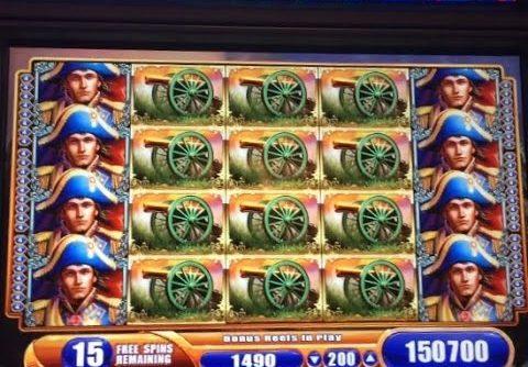 **MASSIVE JACKPOT ** NAPOLEON & JOSEPHINE slot machine AMAZING FULL SCREEN JACKPOT HANDPAY WIN!
