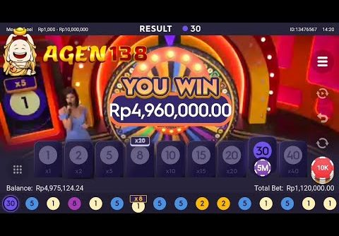 BIG WIN!!  MEGA WHEEL || LIVE CASINO || PRAGMATIC.