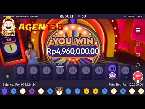 BIG WIN!!  MEGA WHEEL || LIVE CASINO || PRAGMATIC.