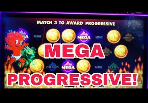 MEGA PROGRESSIVE WIN! BUNCH OF BONUSES! VEGAS SLOT PLAY