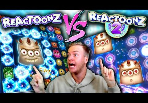 REACTOONZ vs REACTOONZ 2 – Biggest Win?