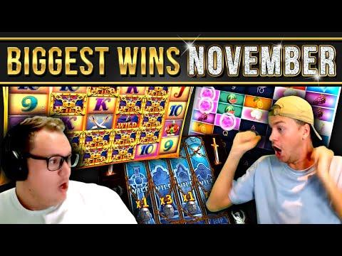 10 Biggest Slot Wins of November