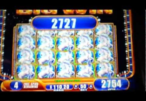 Mystical Unicorn JACKPOT Handpay Mega Big Win WMS 5¢ Slot