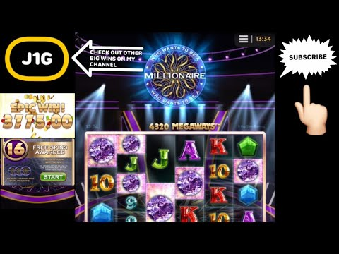 WHO WANTS TO BE A MILLIONAIRE SLOT RECORD BIG WIN 💰