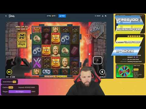 Streamer Epic Big Win on San Quentin slot – Top 5 Best wins of the week slots