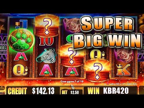 SUPER BIG WIN on a NON-SUPER FEATURE SUNSET KING BONUS SLOT MACHINE – Aristocrat Slots
