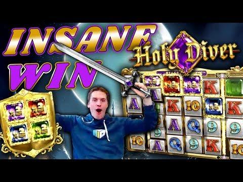 INSANE WIN on Holy Diver Slot *FINALLY!* – £2 Bet
