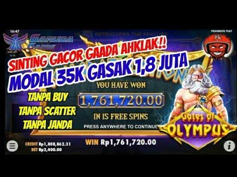 SLOT GACOR HARI INI√MODAL RECEHAN SUPER BIG WIN DI GATES OF OLYMPUS