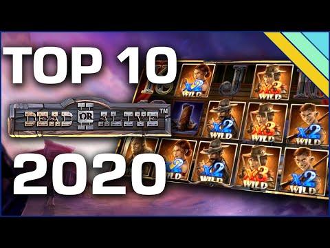 Top 10 Biggest Wins on Dead or Alive 2 (2020)