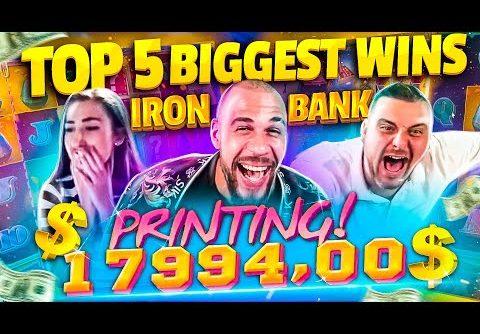 SLOT MACHINE RECORD WIN €32K – TOP 5 Biggest Wins on Iron Bank