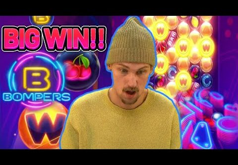 NEW EXCLUSIVE SLOT ON LEO!!! BOMPERS BIG WIN FROM CASINODADDY