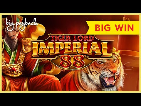 8X MULTIPLIER, YES!! Tiger Lord Imperial 88 Slot – BIG WIN BONUS!