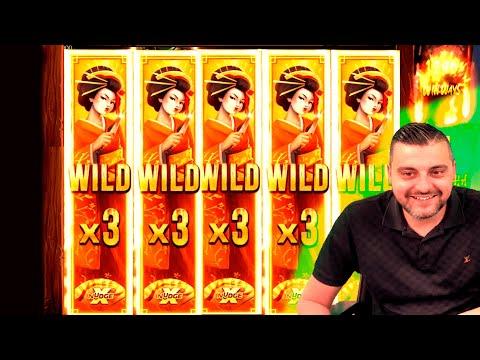 SUPPER MASSIVE MEGA WIN on Bushido Ways xNudge slot – Casino Slots Big Wins