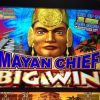 MAYAN CHIEF Slot machine HUGE MEGA BONUS WIN!