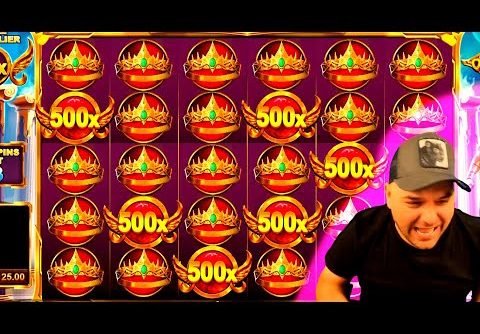 NEW SUPER INSANE WIN on Gates Of Olympus Slot – Records Wins Of The Week