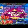 $$$ 5K🤑300 Top-up😱 Ultra mega bigwin ll Great Blue slot ll Free game ll Mega888 ll SGP