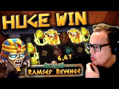 Huge Win on Ramses' Revenge (New Slot)