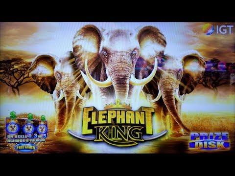 BIG WIN on ELEPHANT KING SLOT + CELESTIAL SUN RICHES SLOT POKIES BONUSES PECHANGA CASINO