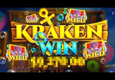 HUGE WIN on Release The Kraken Slot…