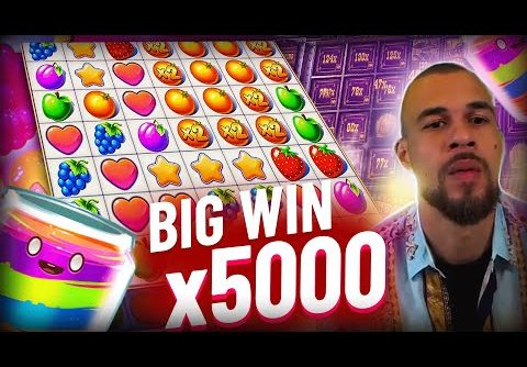 Streamer Record win x5000 on Fruit Party slot – Top 10 Biggest Wins of week #4