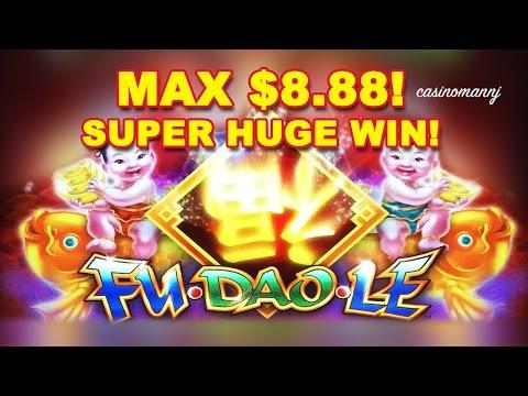 **SUPER HUGE** SLOT WIN! – FU DAO LE Slot – MAX BET! – Slot Machine Bonus