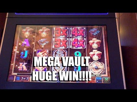 HUGE WIN IGT Mega Vault Slot: Free Games Bonus