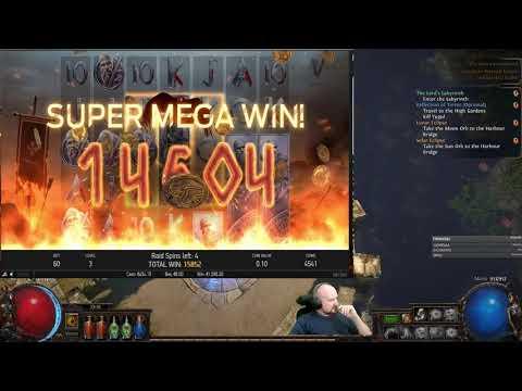 Mega Big Win From Vikings Slot!!