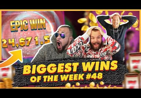 BIGGEST WINS OF THE WEEK 48! INSANE BIG WINS on Online Slots! TWITCH HIGHLIGHTS!