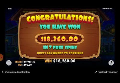 #SLOT# |  THE DOG HOUSE | #BET10.000$ JACKPOT BIG WIN NICE END CARD