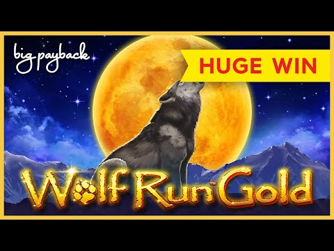 HUGE WIN, QUITE UNEXPECTED! Wolf Run Gold Slot – LOVED IT!