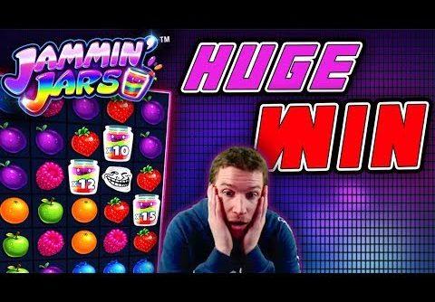 HUGE WIN + MEGA MISS! on Jammin' Jars Slot – £4 Bet