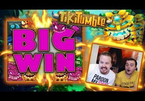 BIG WIN in slot Tiki Tumble!