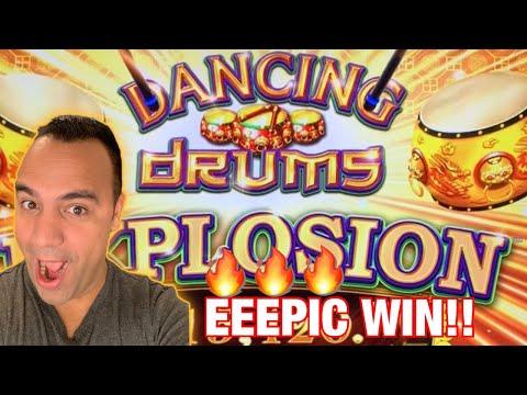 Dancing Drums EXPLOSION 🧨 | $10 MAX BETS! | Huge WIN, Big EEEEE! 💃 🥁 💰