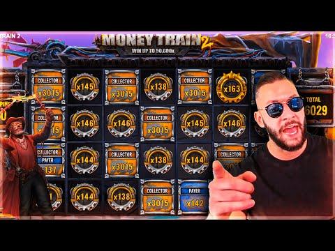 Streamer Ultra Crazy WIN on Money Train 2 slot – Top 10 Biggest Wins of week