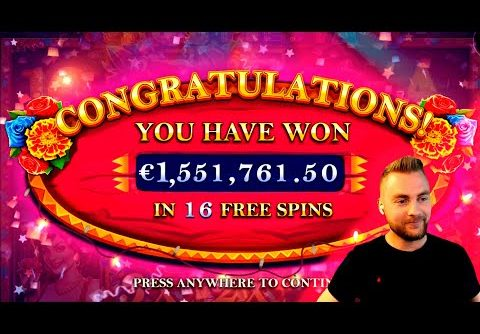 Streamer NEW WORLD RECORD WIN on Hot Fiesta Slot – TOP 10 BEST WINS OF THE WEEK !
