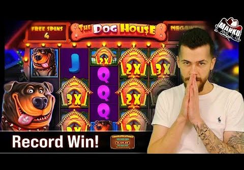 Doghouse Megaways Record! ♥ Personal Universal Record! ♥ Big Slot Wins (March 2021) ♥