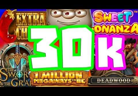 €30.000 COMEBACK SLOT SESSION🤑WE MADE HISTORY😱ON LIVE STREAM BIGGEST WINS WE EVER HAD MUST SEE‼️