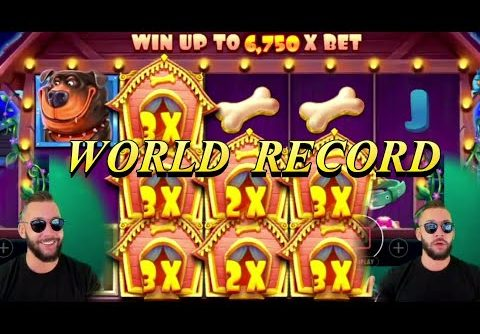 World Record Win on Dog House slot with DeuceAce