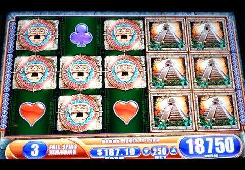 Jungle Wild 3 *MAX BET* MEGA BIG WIN! Bonus Free Spins WMS Slot Machine
