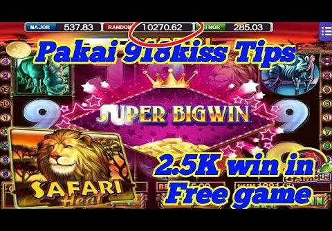 $$$ Safari Heat 2.5K (300 modal)Mega888 Super bigwin ll Free game ll SGP