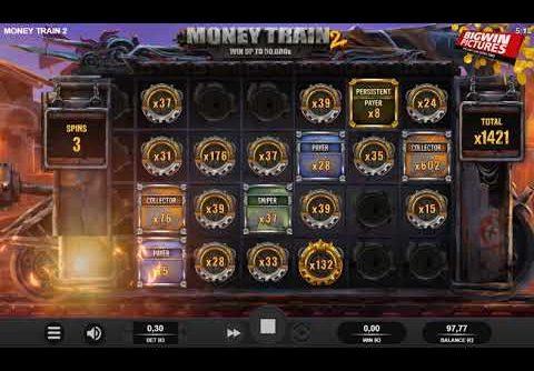 Money Train 2 Slot – CRAZY BIG WIN!
