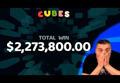 NEW EPIC RECORD WIN! on Cubes slot – Casino Slots Big Wins