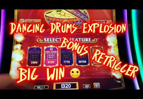 Big win 👍Dancing Drums Explosion 👏 2.88/ spin