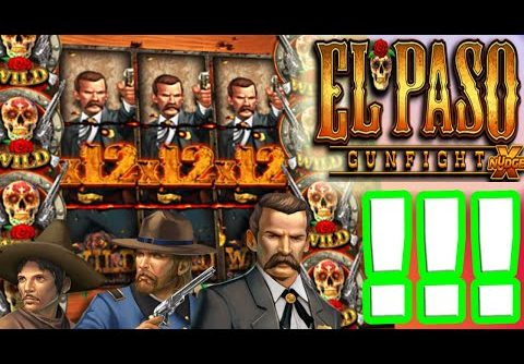 My Biggest Win on El Paso Gunfight 🔥 (NEW SLOT) ULTRA MEGA BIG WIN €4.000 BONUS BUYS 😱 MUST SEE‼️
