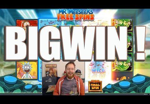 New Rick&Morty slot BIG WIN!!