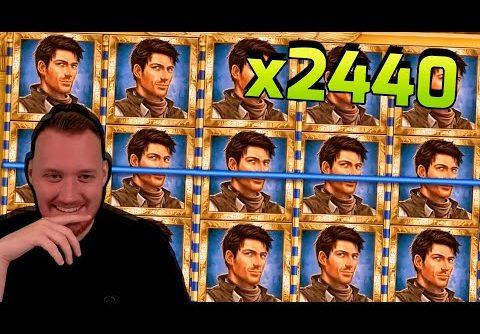 SUPER WIN! Streamer win x2240 in Book Of Dead Slot! BIGGEST WINS OF THE WEEK! #30