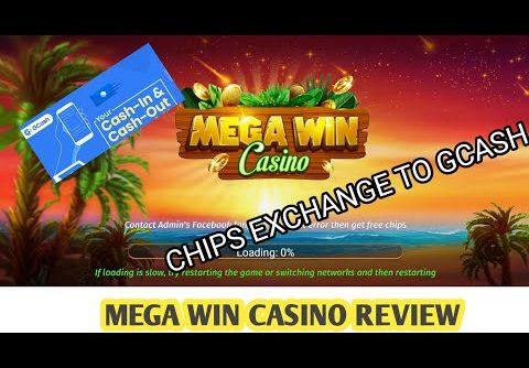Mega Win Casino App Review Pay Out via GCASH | RAYMELTV