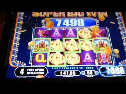 King Midas Super Big Win WMS Slot Machine