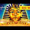 ULTRA RARE, WOW! Dreams of Egypt Slot – BIG WIN SESSION!