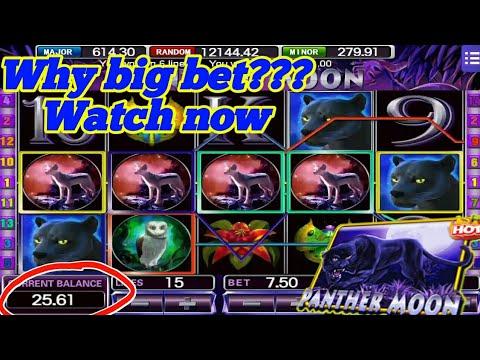 $$$ 150 Top-up 1.5K ll Panther moon ll Mega888 ll Super bigwin ll SLOT GAME PLAY (SGP)